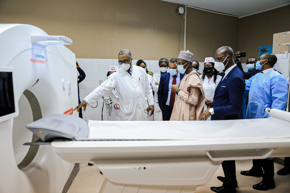 Scanner at Yaounde Central Hospital