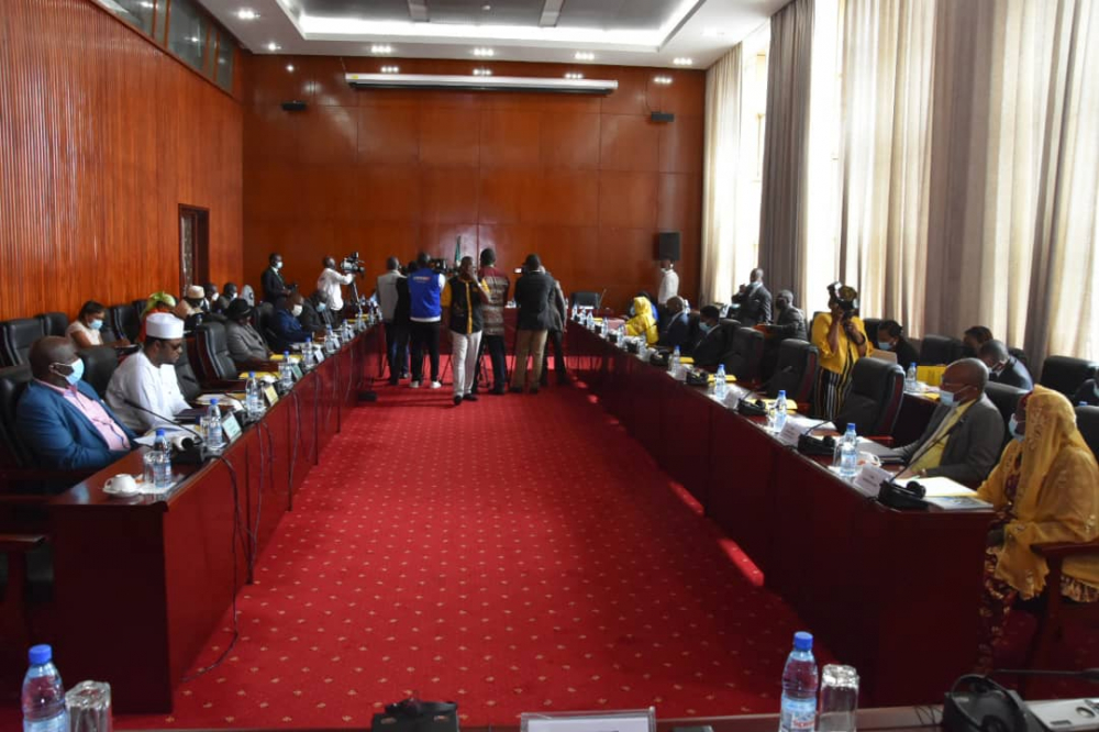 Members of Rights Commission in Parliament