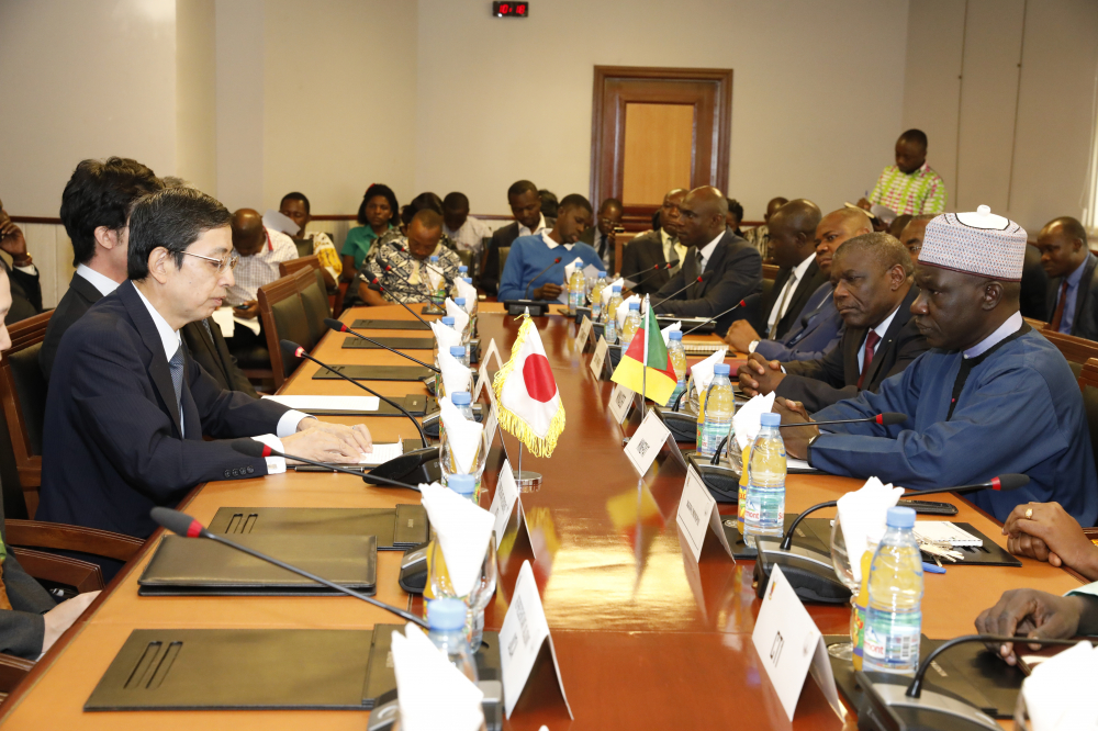 Japan-Cameroon partnership to boost rice production