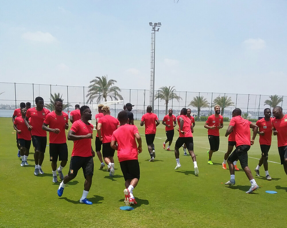AFCON 2019: Indomitable Lions First Training